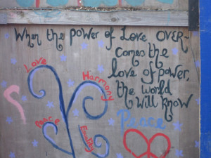 Love Quote Painting