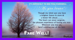Best Farewell Wishes Quotes, Thoughts, Sayings Pictures Download Free
