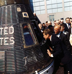 Astronaut John Glenn's Friendship 7 Mercury Capsule