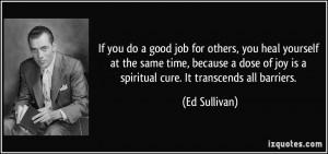 More Ed Sullivan Quotes