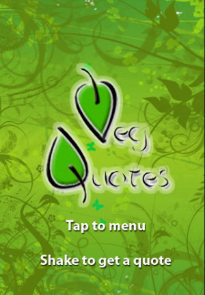 Veg Quotes Vegetarian...