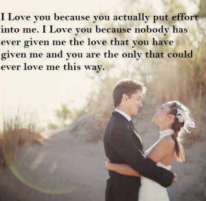 love that you have given me and you are the only that could ever love ...