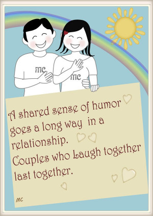 Inspirational love quotes Couples who laugh together last together ...