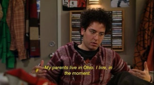 Ted Mosby Awkward with Mary the Paralegal gif