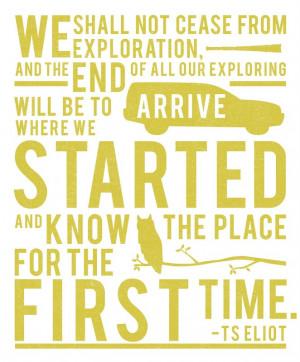 TS Eliot #Quote