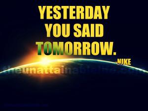Nike quote photo