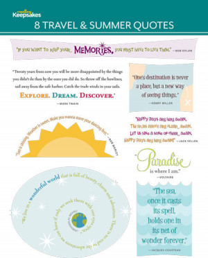 Travel Quotes for Scrapbooking