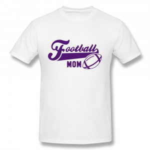 Football Mom Shirts Casual t shirt mens football