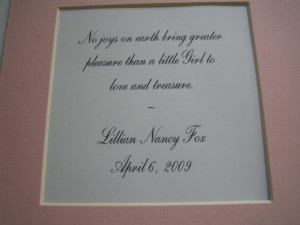Framed quote for littel girls room by FiveSistersshop on Etsy, $20.00