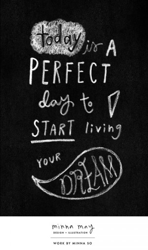 words / live your dream
