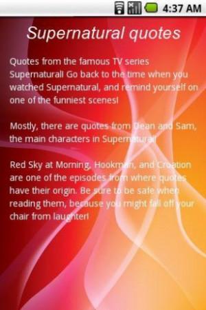 Slideshow Best Supernatural...