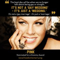 LGBT Quotes: Pink http://www.thegailygrind.com/2013/02/17/30-best ...