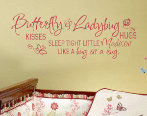Baby Girl Nursery Wall Quotes