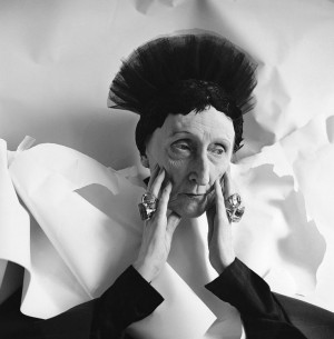 Dame Edith Sitwell, photographed by Cecil Beaton.
