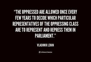 Vladimir Lenin Quote 2 by VladimirSeyer