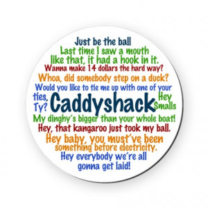 ... Gifts > Bushwood Kitchen & Entertaining > Caddyshack Round Coaster