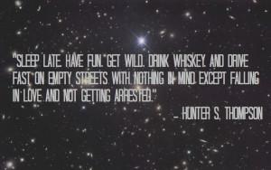 Hunter S. Thompson #quotes