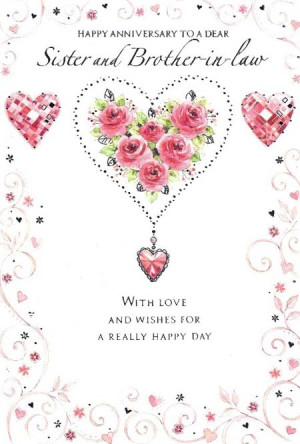wedding anniversary wishes for sister and brother in law quotes