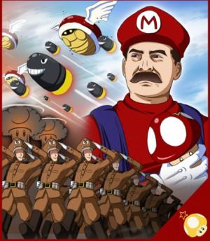 Super Soviet Super Mario Stalin
