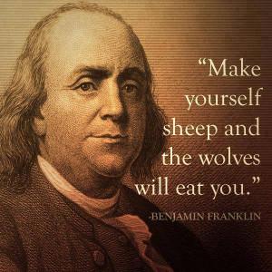 Benjamin Franklin Quote | Make Yourself