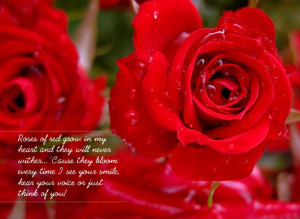 Good Morning Red Roses With Quotes (12)