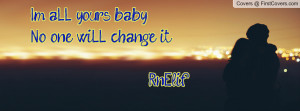 aLL yours baby !!No one wiLL change it ;) Rn'Elif cover