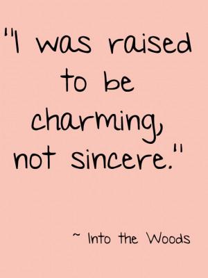 IntoTheWoods #Theatre #Quote