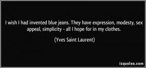 BLUE JEANS QUOTES