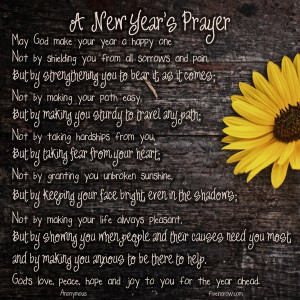 beautiful New Year's Blessing for you!