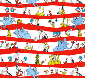 Celebrate Seuss! by Dr. Seuss Enterprises : Cotton Novelty Print ...