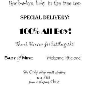Baby Quotes for Scrapbooking – ThinkExist.com