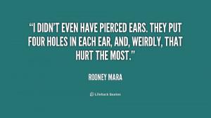 Piercing Quotes