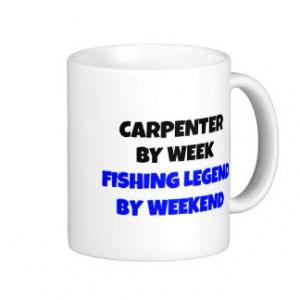 Fishing Legend Carpenter Classic White Coffee Mug