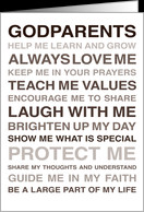 For Godparents - Will you be my Godparents? - From Godchild card ...