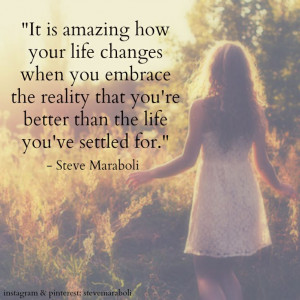 Maraboli #quote: Changing Your Life Quotes, Embrace Changing Quotes ...
