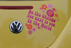 Hippie Words and Phrases | Hippy Motors - HIPPY SAYINGS car stickers