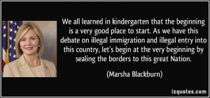 in kindergarten that the beginning is a very good place to start ...