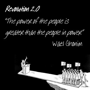 ... The power of the people is greater than the people in power