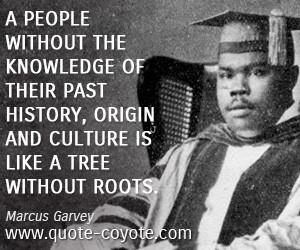 Marcus Garvey People...