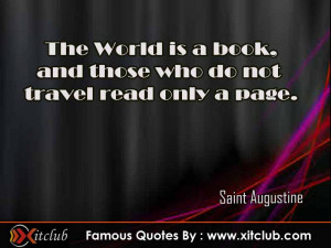You Are Currently Browsing 15 Most Famous Quotes By Saint Augustine