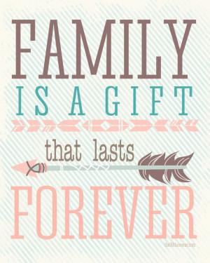 Precious Family Forever Quotes
