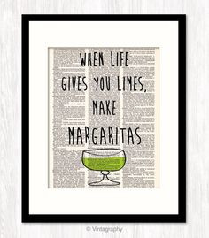 funny quote art dictionary art When Life Gives You Limes Make ...