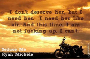 Seduce Me has everything I like in an MC book. G.T. and Casey have ...