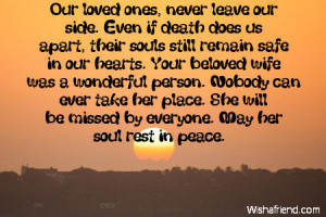 Sympathy Quotes Loss Loved One