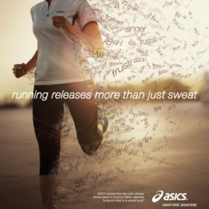 Running makes me happy. Endorphins are a miraculous little thing ...