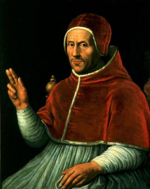 Future Pope Adrian VI is Elevated to Cardinal by Pope Leo X Hot