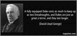 More David Lloyd George Quotes