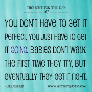 ... thought for the day jack canfield quotes get it going quotes