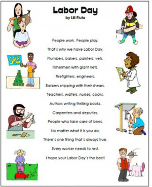 Labor Day Poem About Many Different Works Of People.