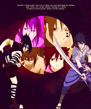 sasuke uchiha quotes shippuden